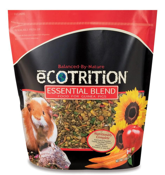8 in 1 eCOTRITION Essential Blend Diet Guinea Pig 5lb - Small Animal - 8 in 1 Pet Products - Leaderpetsupply.com