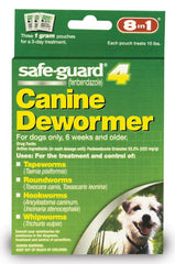 8 in 1 Safeguard 4 Canine Dewormer for Small Dogs 1gm - Leaderpetsupply.com