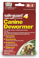 8 in 1 Safeguard 4 Canine Dewormer for Large Dogs 4gm - Dog - 8 in 1 Pet Products - Leaderpetsupply.com