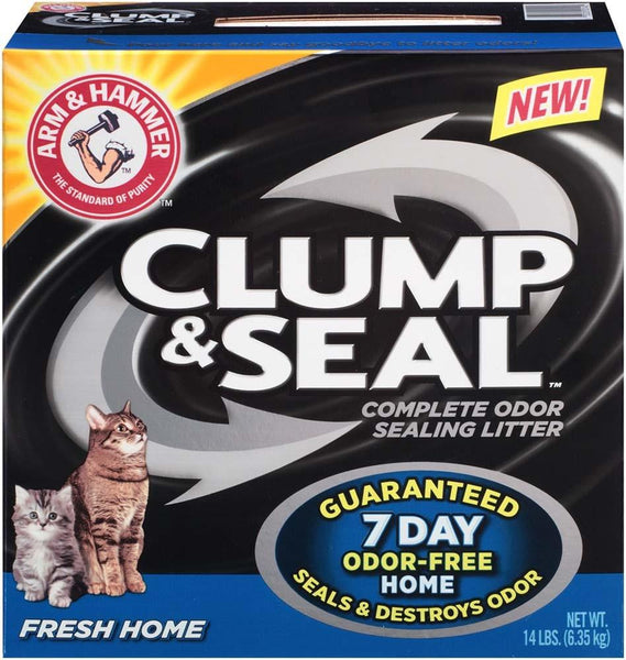 Arm & Hammer Clump & Seal Fresh Home 14lb-Case of 3 - Cat - Arm & Hammer - Leaderpetsupply.com
