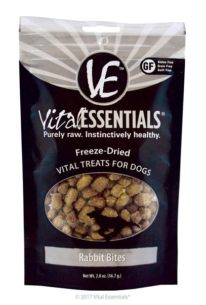 Vital Essentials FD Vital Treats - Rabbit Bites 2oz - Dog - Vital Essentials - Leaderpetsupply.com