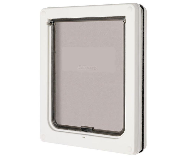 Animate Dog Mate Dog Door White Medium.