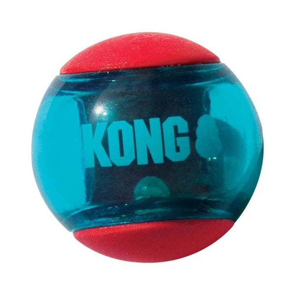 KONG Squeezz Action Ball Red Medium Dog Toy