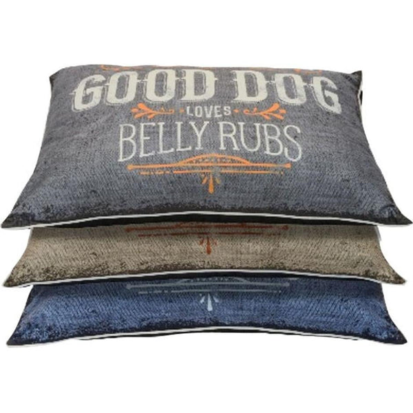 Dallas Manufacturing Pillow Dog Bed 30x40.