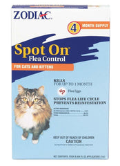 Zodiac Spot On Flea Control Cats & Kittens.