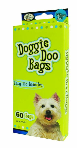 Four Paws Doggie Doo Bags Biodegradable 60ct.