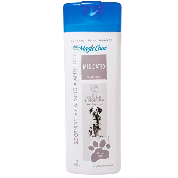 Four Paws Magic Coat Medicated Shampoo 16oz.