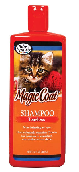 Four Paws Magic Coat Cat & Kitten Tearless Shampoo 12oz