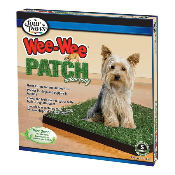 Four Paws Wee-Wee Patch Indoor Potty Small 6ea.