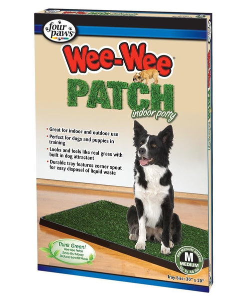 Four Paws Wee-Wee Indoor Potty Medium 3ea.