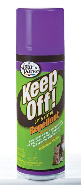 Four Paws Cat & Kitten Repellent 6oz.