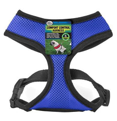 Four Paws Comfort Control Harness Small Blue.