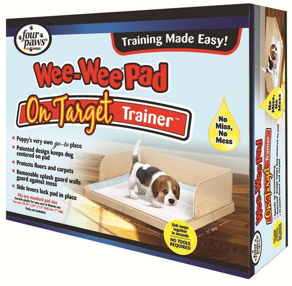 Four Paws Wee-Wee On-Target Trainer Pad Holder.