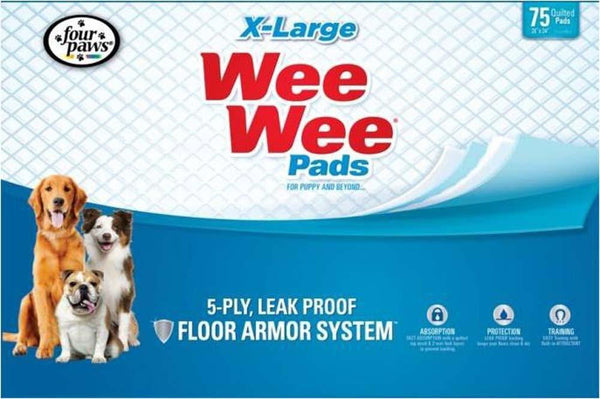 Four Paws Wee Wee X-Large 75pk.