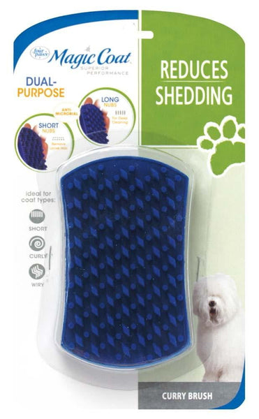 Four Paws Magic Coat Grooming Brush Anti Bacterial.