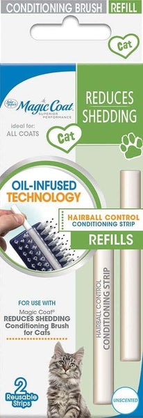 Four Paws Cat Hairball Control Strips Refill 2pk.