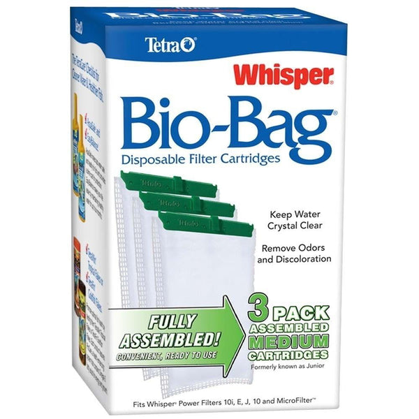 Tetra Whisper Bio-Bag Cartridge Medium 3pk