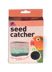 Prevue Pet Products Mesh Seed Catcher Large 13in High.
