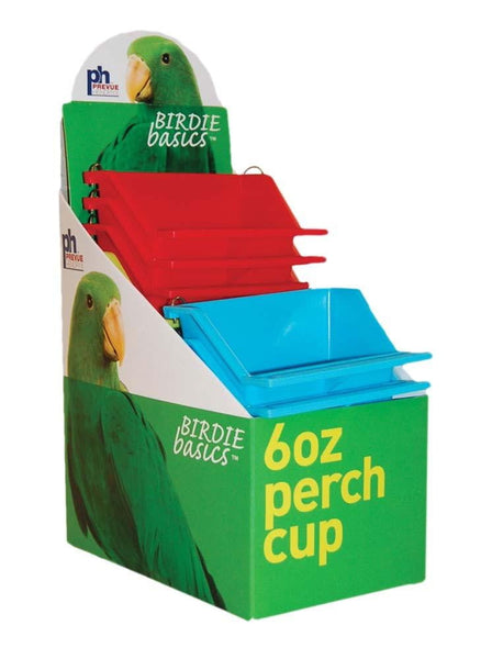 Prevue Pet Products Perch Cup 12ea-6oz.
