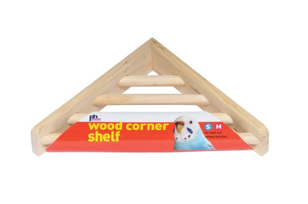 Prevue Pet Products Wood Corner Ladder Platform.