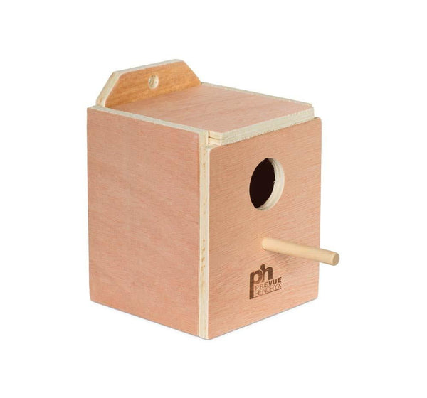 Prevue Pet Products Hardwood Inside Finch Nest Box Small.