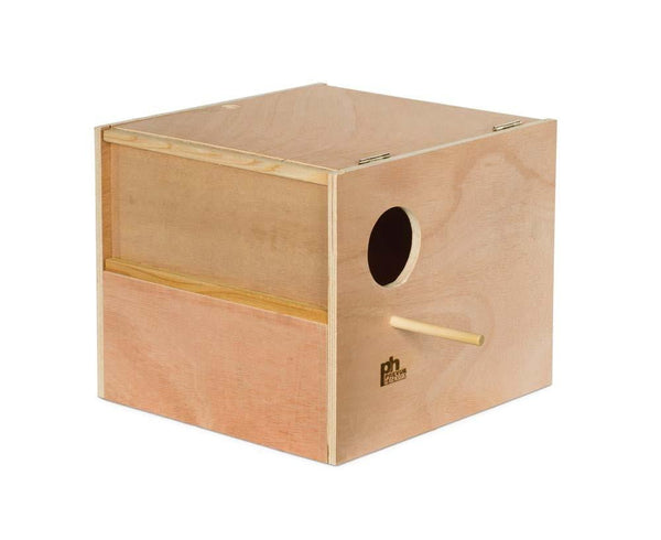 Prevue Pet Products Hardwood Outside Cockatiel Nest Box Large.