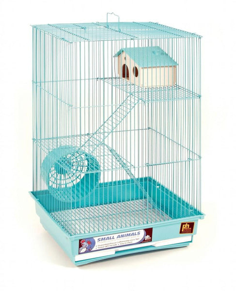 Prevue Pet Products Three Story Hamster and Gerbil Cage with Exercise Wheel.