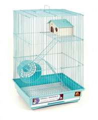 Prevue Pet Products Three Story Hamster and Gerbil Cage with Exercise Wheel