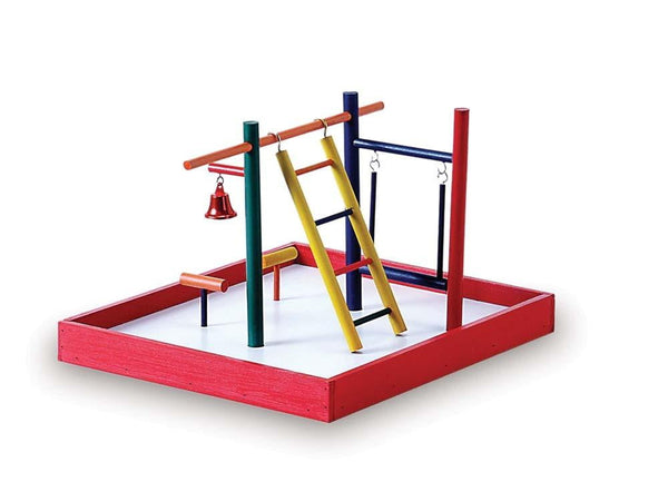 Prevue Pet Products Parakeet Park Playground.