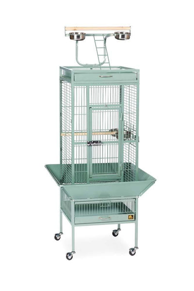Prevue Pet Products Wrought Iron Select Cage Sage 18x18x57in.