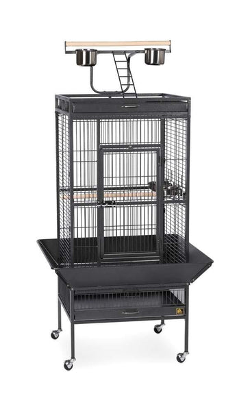 Prevue Pet Products Wrought Iron Select Cage Black 24x20x60in