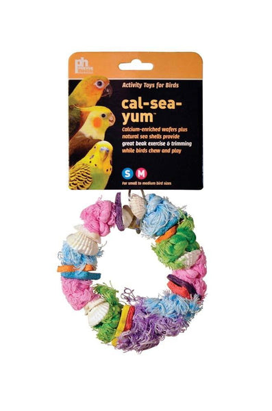 Prevue Pet Products Cal-Sea-Yums Dollar Bird Toy.