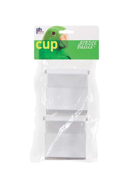 Prevue Pet Products Universal Outside Access Plastic Cup 2pk.