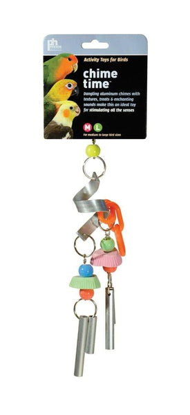 Prevue Pet Products Chime Time Cyclone Bird Toy.