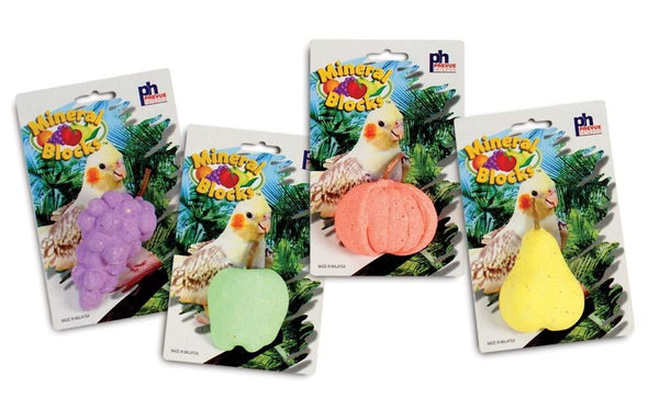 Prevue Pet Products Assorted Fruit Mineral Block.