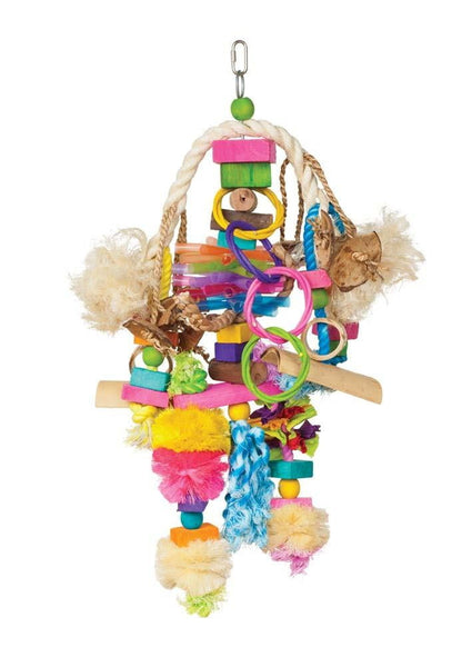 Prevue Pet Products Bodacious Bites Explosion Bird Toy.