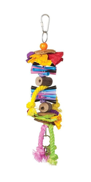 Prevue Pet Products Tropical Teasers Party Time Bird Toy.