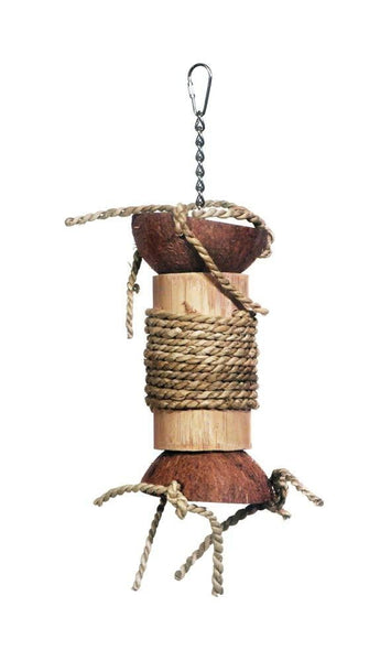 Prevue Pet Products Naturals Hide-Seek Foraging Bird Toy.