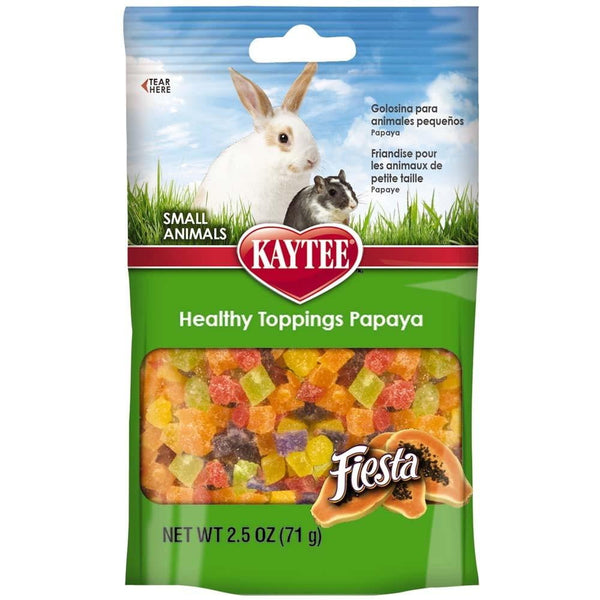 Kaytee Fiesta Healthy Top Papaya Small Animal 2.5oz