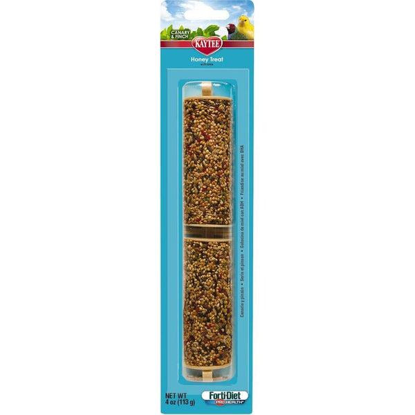Kaytee Forti-Diet Pro Health Canary-Finch Honey Stick 4oz.