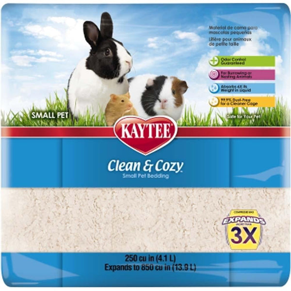 Kaytee Clean & Cozy Bedding 250ci.