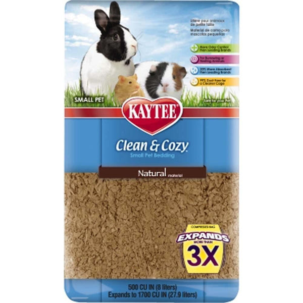 Kaytee Clean & Cozy Bedding Natural 500ci.