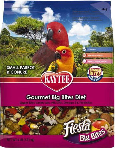 Kaytee Fiesta Big Bites Parrot Treats 4lb.