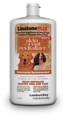 Lambert Kay Linatone Shed Relief Plus for Dogs & Cats 16oz.