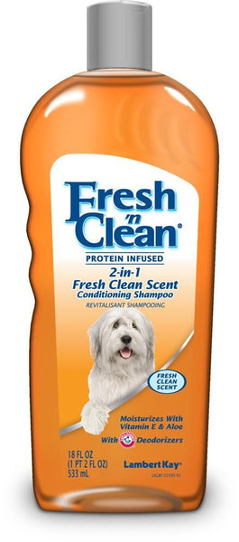 Fresh 'n Clean 2in1 Protein Infused Conditioning Shampoo Fresh Clean Scent 18oz.