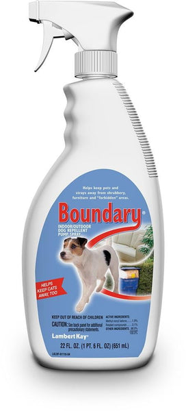 Lambert Kay Boundary Dog Repellent Pump Spray 22oz