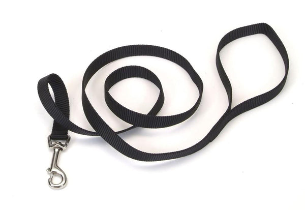 Coastal Single-Ply Nylon Leash Black 5-8X4ft