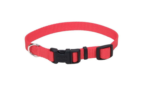 "Coastal Pet Tuff Buckle Adjustable Nylon Collar, 5-8""   x 10"" - 14""."