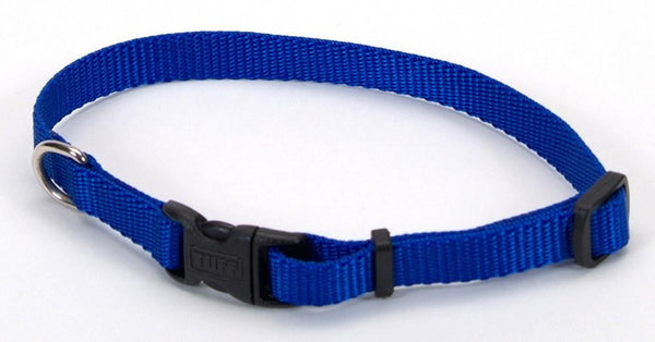 "Coastal Pet Tuff Buckle Adjustable Nylon Collar, 3-8"" x 8"" - 12"""