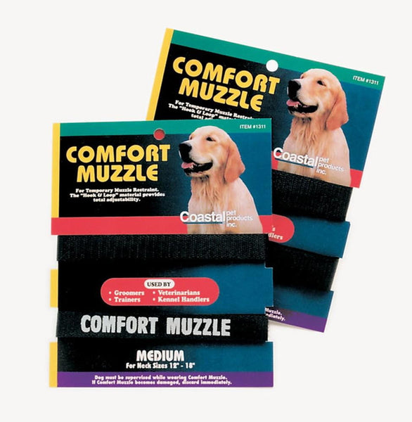 Coastal Comfort Muzzle for Dogs Adjustable Medium.